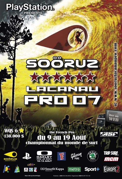 SOORUZ LACANAU PRO 2007